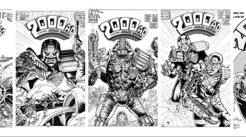 Creator Spotlight: Kev Crossley homages classic 2000AD artists for Lockdown Project