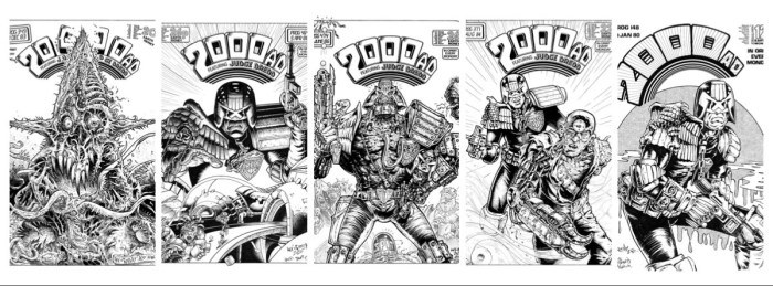 2000AD artist Kev Crossley - Lockdown Project Montage