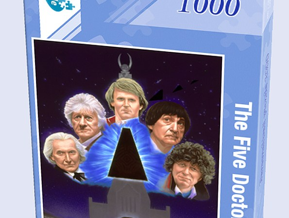 Doctor Who: The Five Doctors art offered as jigsaw