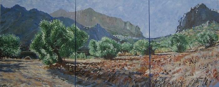 A landscape by Christine Ellingham