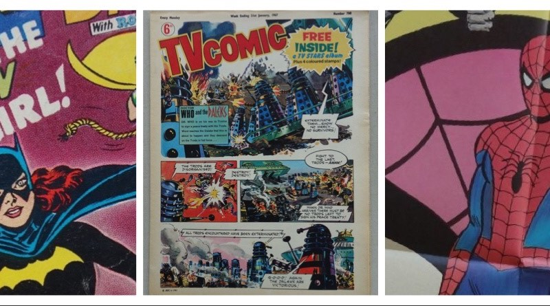 Phil-Comics offers first issues galore in latest auction, and first TV Comic featuring Daleks, too!