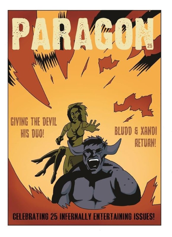 Paragon Comic Issue 25 - Cover