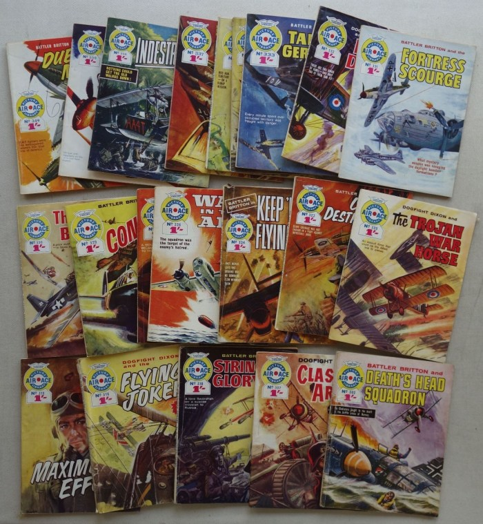 Air Ace Picture Library issues 302-349 (1966-1967)