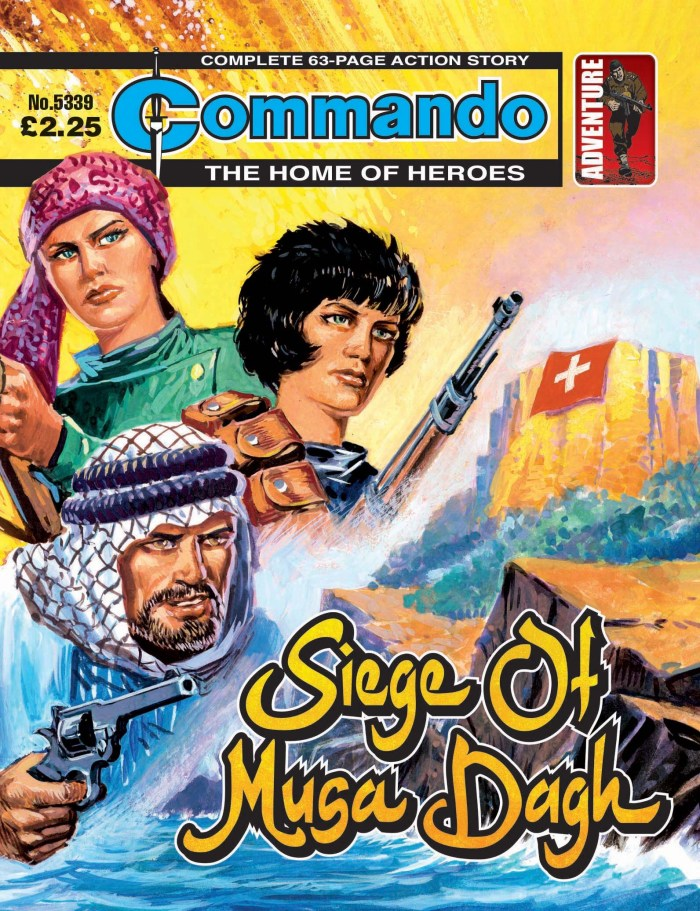 Commando 5339: Home of Heroes - Siege of Musa Dagh