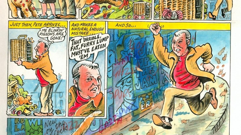 Missing EastEnders? There's always the comic