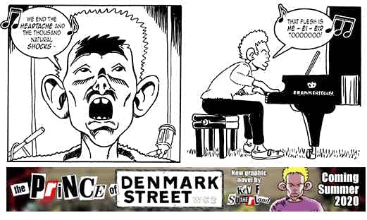 """The Prince of Denmark"""" Street by Kev F. Sutherland"""