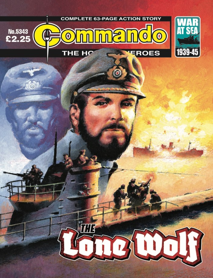 Commando 5343 - Home of Heroes: The Lone Wolf