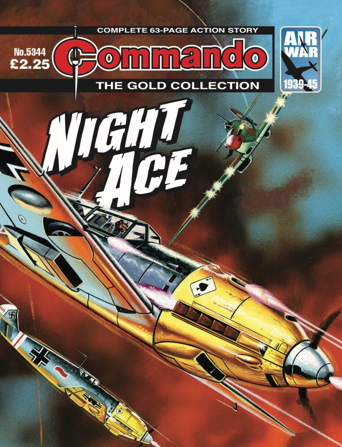 Commando 5344 - Gold Collection: Night Ace