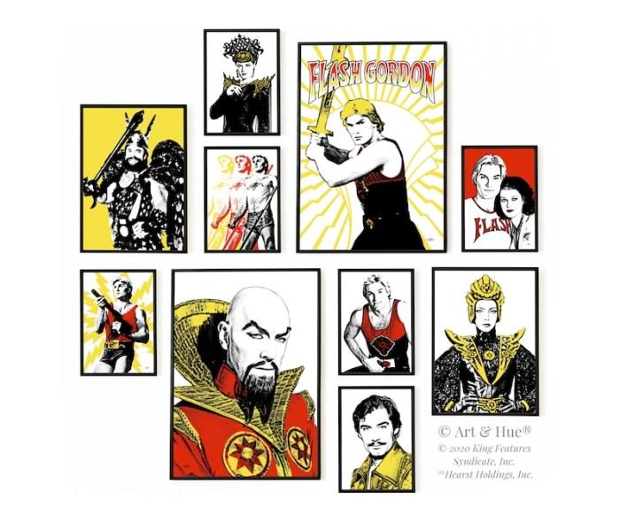 Art & Hue - Flash Gordon 40th Anniversary Prints