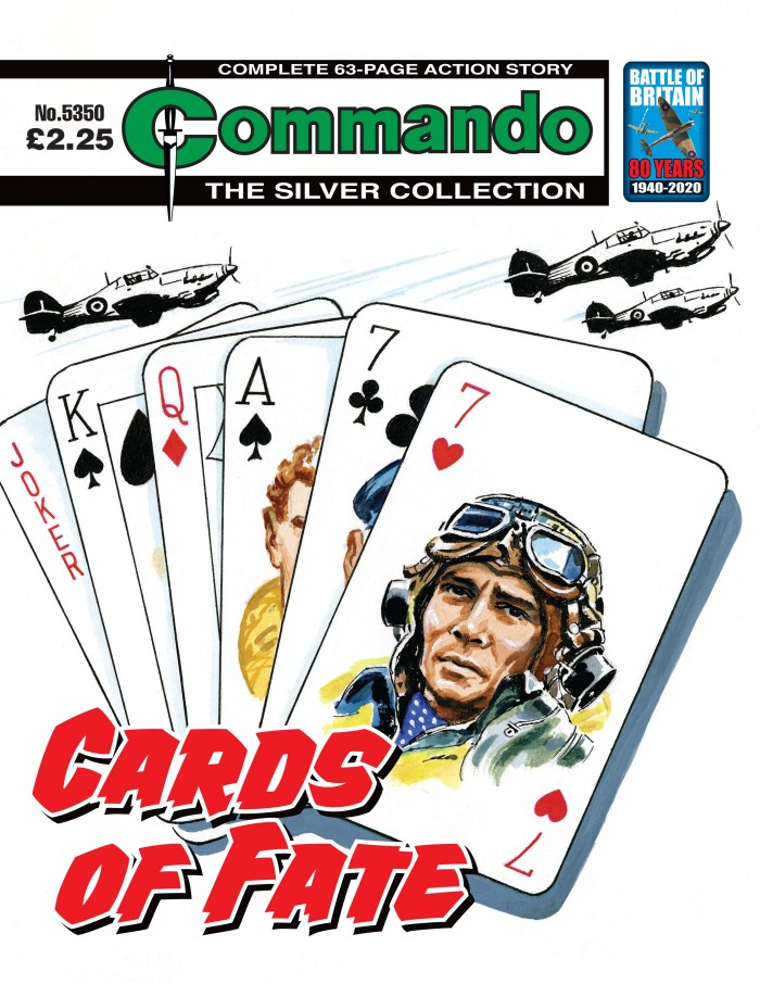 Commando 5350: Silver Collection - Cards of Fate