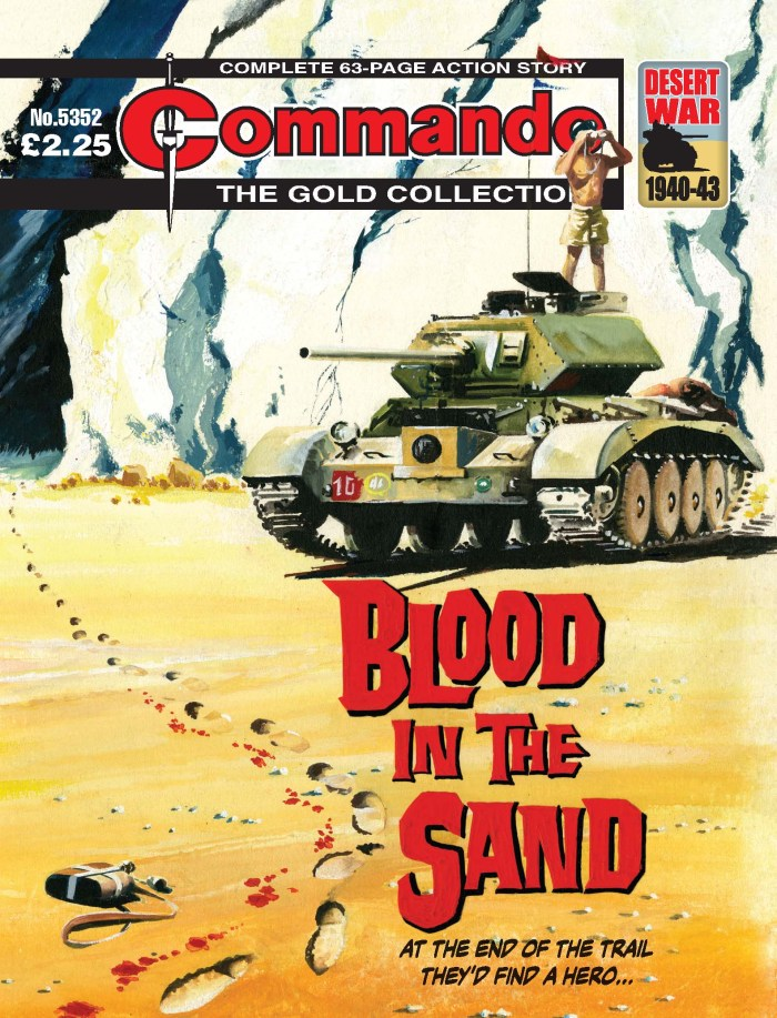 Commando 5352 - Gold Collection: Blood in the Sand