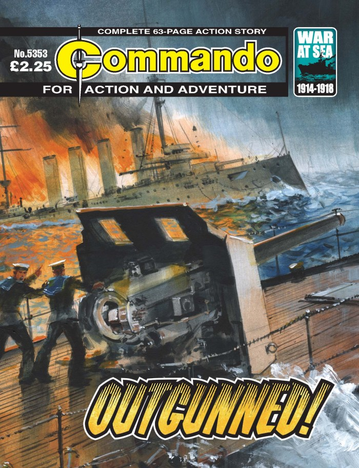 Commando 5353 - Action and Adventure: Outgunned!
