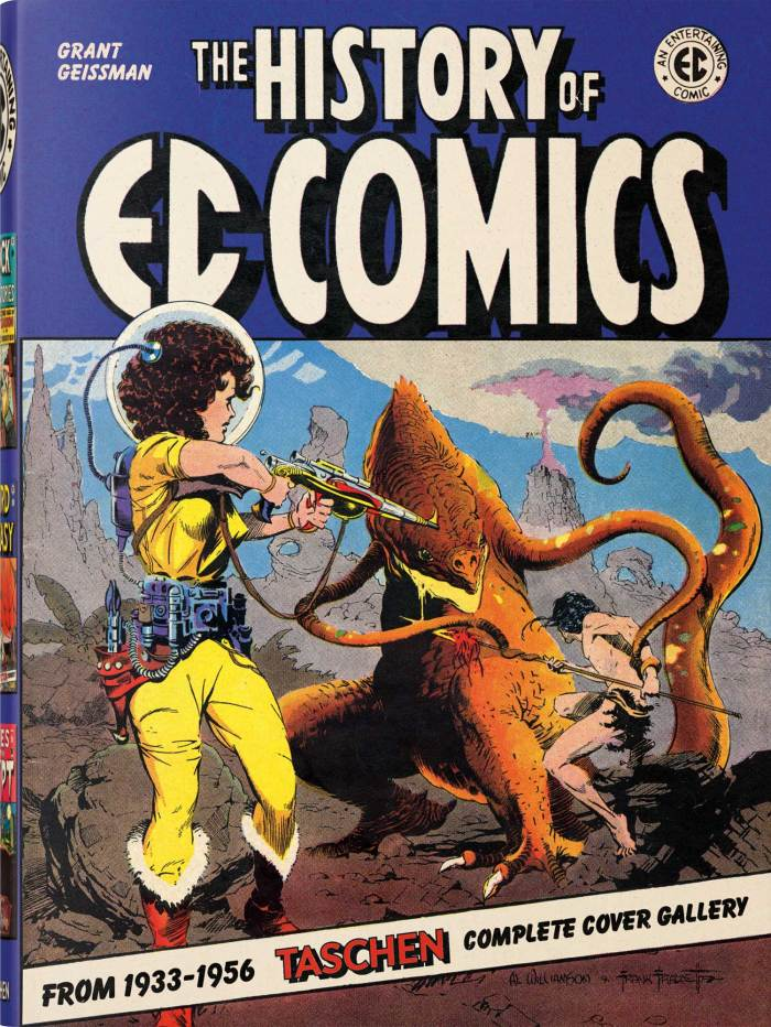 History of EC Comics by Grant Geissman - Cover