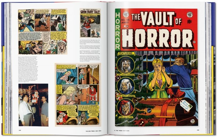 History of EC Comics by Grant Geissman - Sample Pages