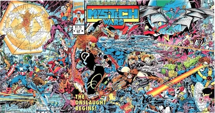 Mys-Tech Wars #1 - Gatefold Cover