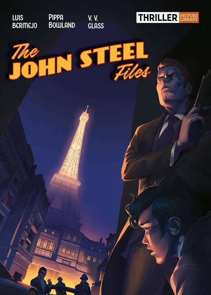 The John Steel Files - Cover