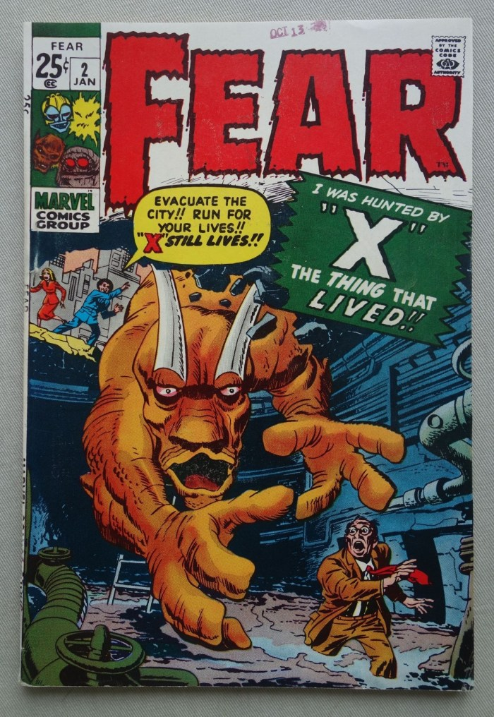 Marvel's Fear #2 - January 1971