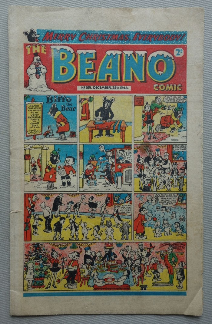 Beano No. 351 - cover dated 25th December 1948
