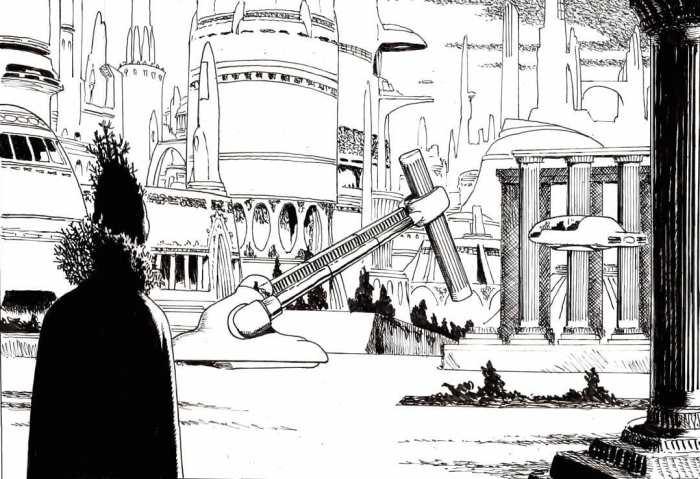 Cutaway Comics - Omega: Vengeance - art by John Ridgway