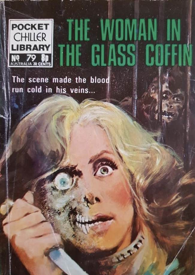 Pocket Chiller Library No. 79 - The Woman in the Glass Coffin