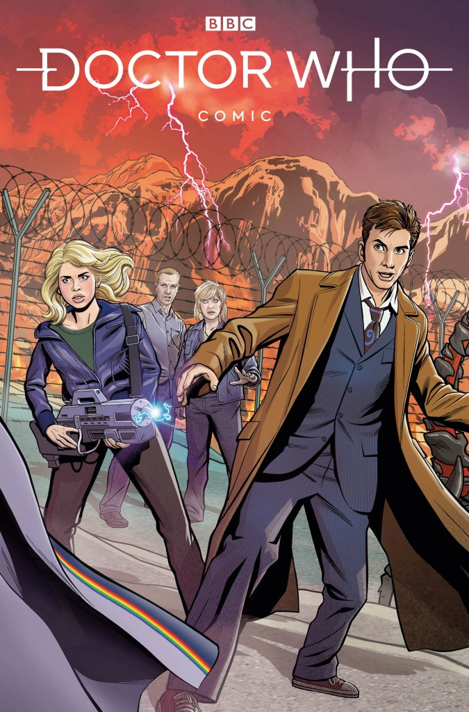Doctor Who Comic #1 (2020) - Cover C by Christopher Jones