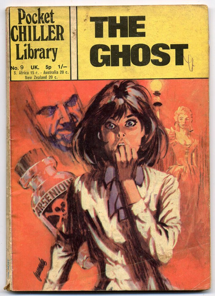 Pocket Chiller Library No. 9 - The Ghost