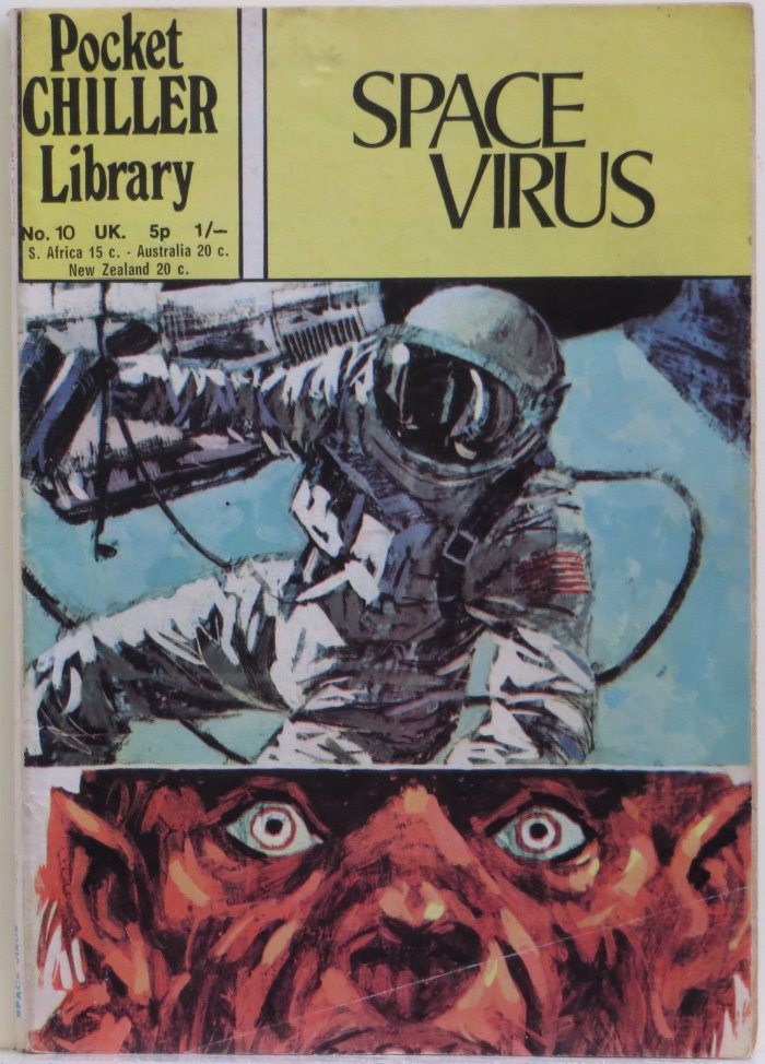 Pocket Chiller Library No. 10 - Space Virus