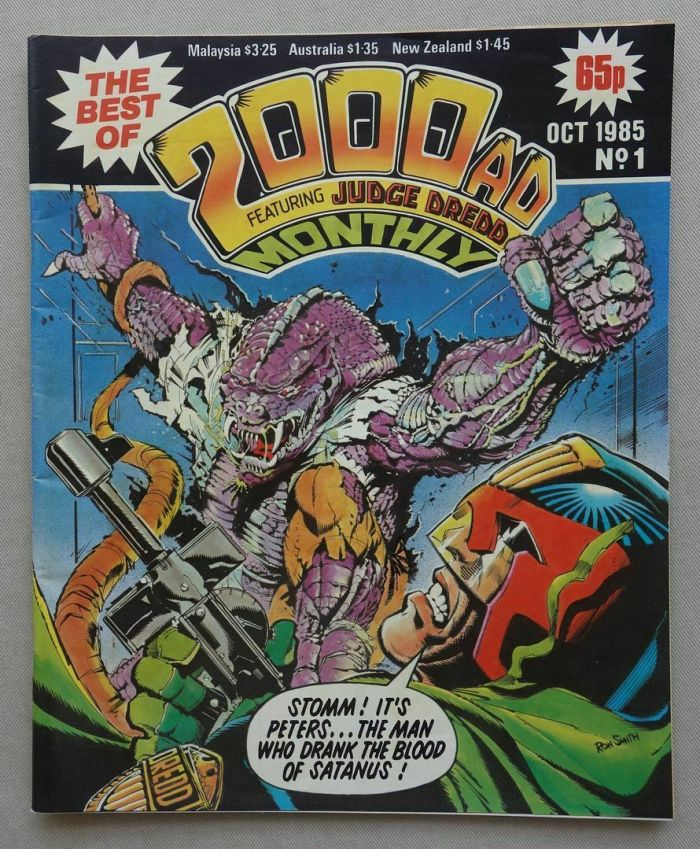 Best of 2000AD Monthly Issue 1 - 1985