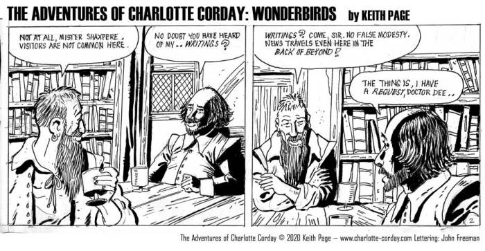 Charlotte Corday - Wonderbirds at Your Service Part 2