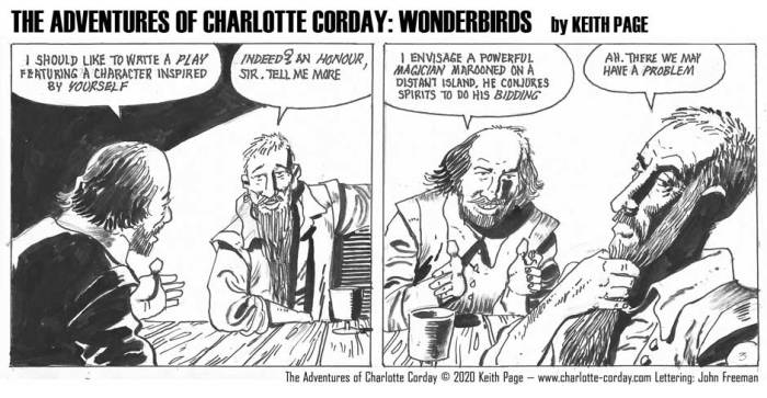 Charlotte Corday - Wonderbirds at Your Service Part 3
