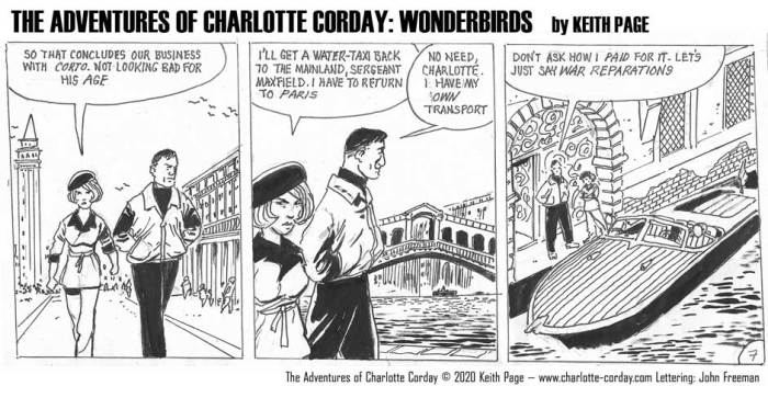 Charlotte Corday - Wonderbirds at Your Service Part 7