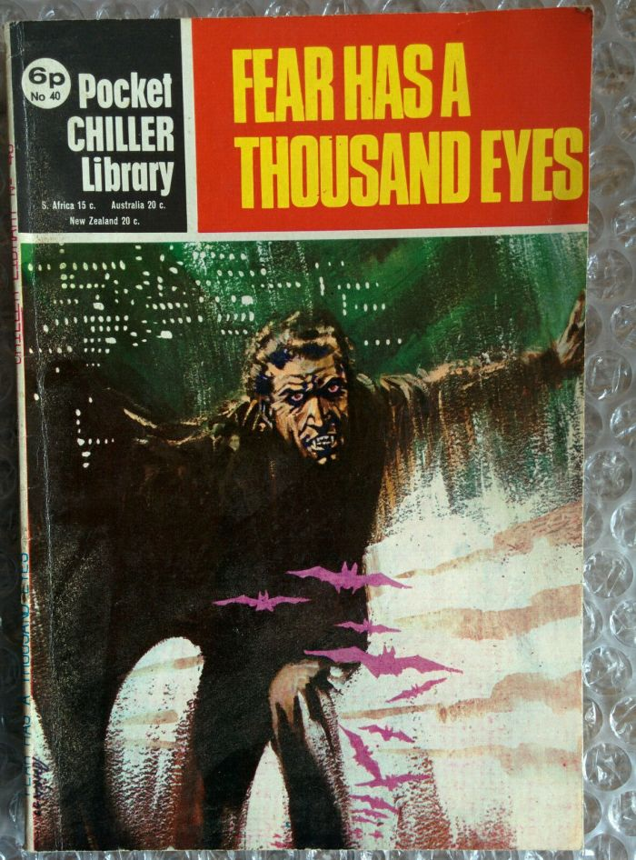 Pocket Chiller Library 40 - Fear Has a Thousand Eyes