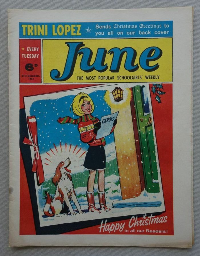 A Christmas issue of June, cover dated 21st December 1963