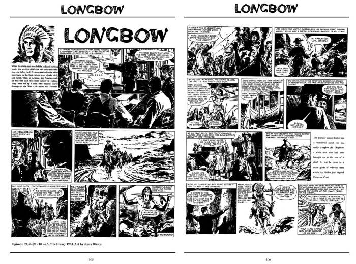 Longbow Volume 2 - Art by Jesus Blasco