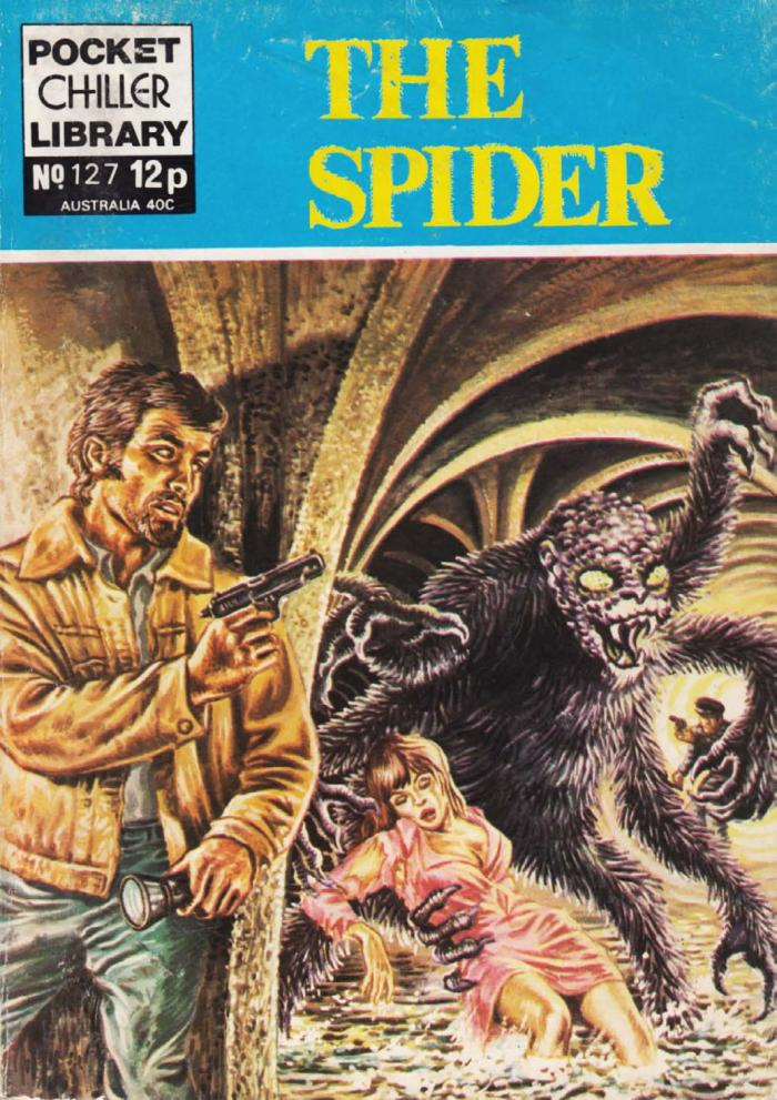 Pocket Chiller Library 127 - The Spider