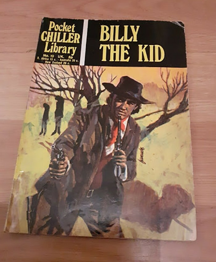 Pocket Chiller Library 19 - 19 - Billy the Kid