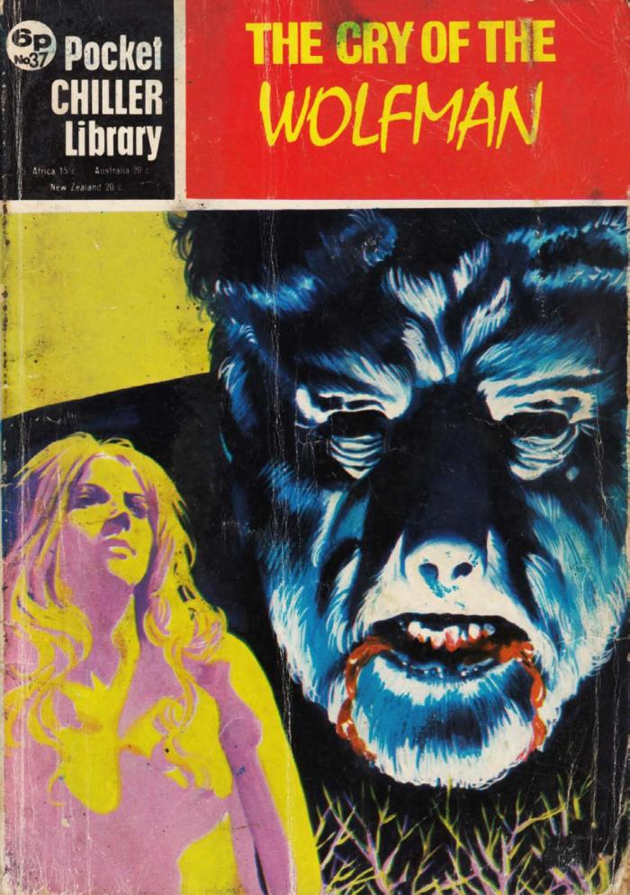 Pocket Chiller Library 37 - The Cry of the Wolfman