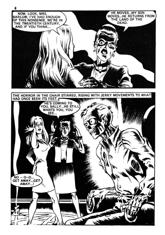 Pocket Chiller Library 43 - The Dead are Awake and Walking - art by Dave Gibbons