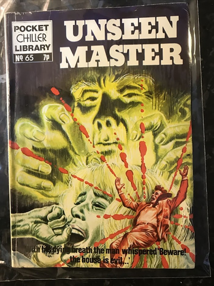 Pocket Chiller Library 65 - Unseen Master