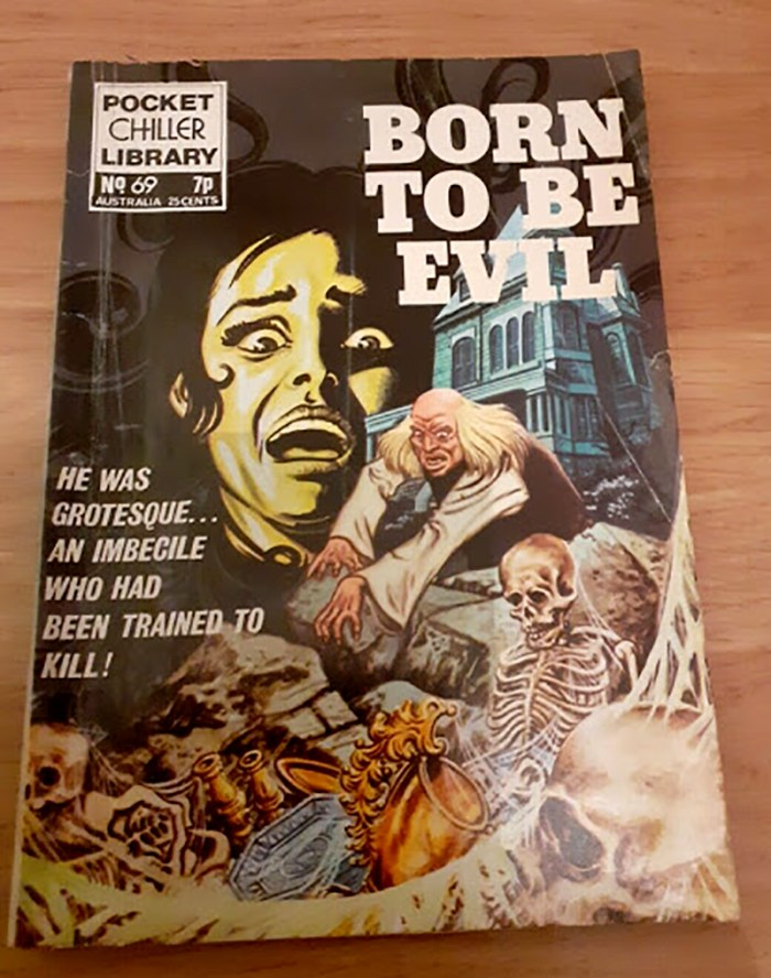 Pocket Chiller library 69 - Born to be Evil