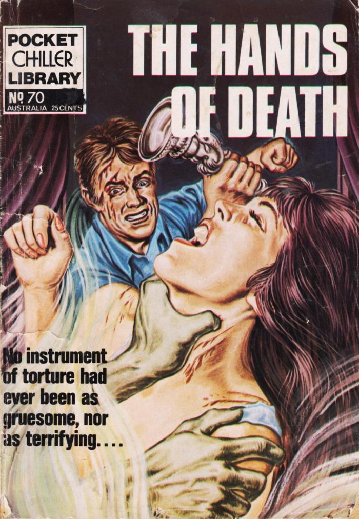 Pocket Chiller Library 70 - The Hands of Death