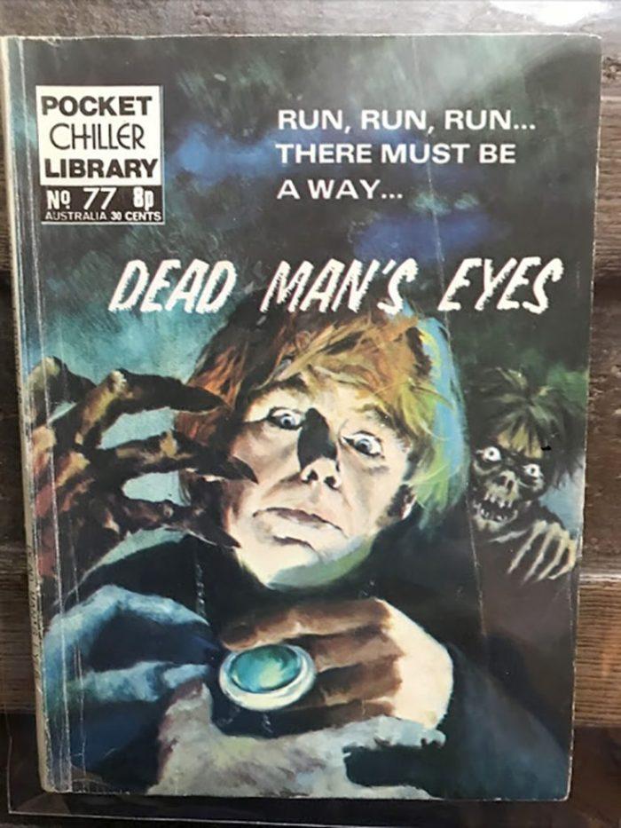 Pocket Chiller library 77 - Dead man's eyes
