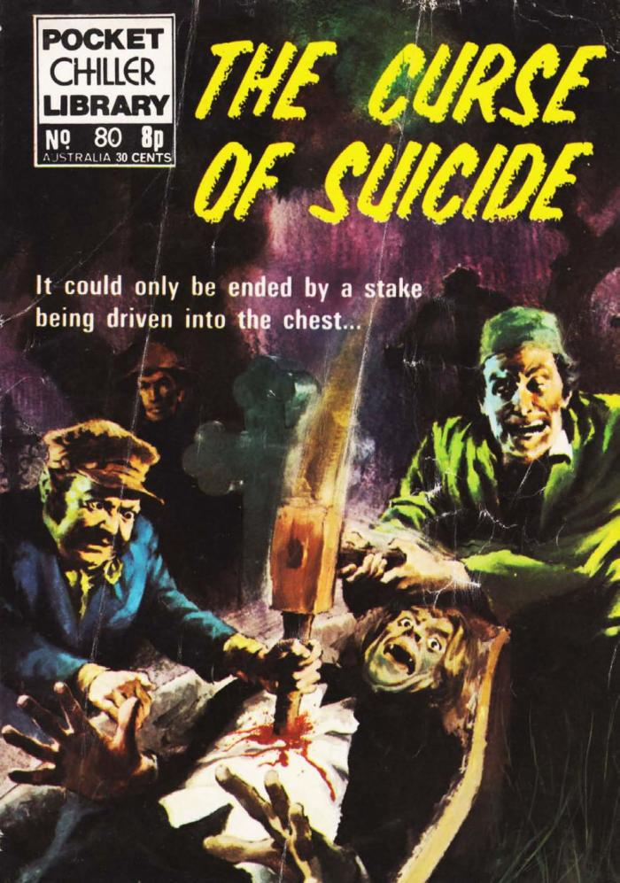 Pocket Chiller Library 80 - The Curse of Suicide