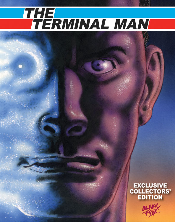 Oliver self-published a collection of The Terminal Man, written by Kelvin Gosnell, back in 2010. The strip featured in Crash and Zzap!64 magazines in 1984 - 1986 and Oliver recreated three missing pages for the collection