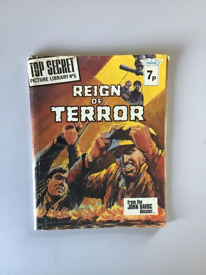 Top Secret Library Number 5 - Reign of Terror