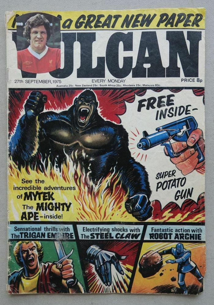 Vulcan Issue One, cover dated 27th September 1975