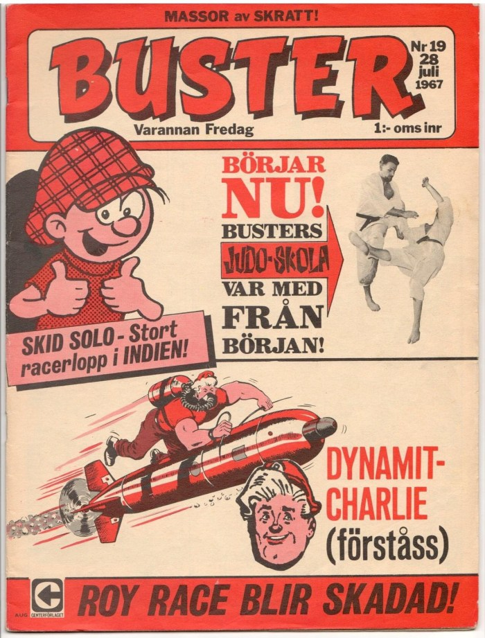 The Swedish version of Buster, published in 1967