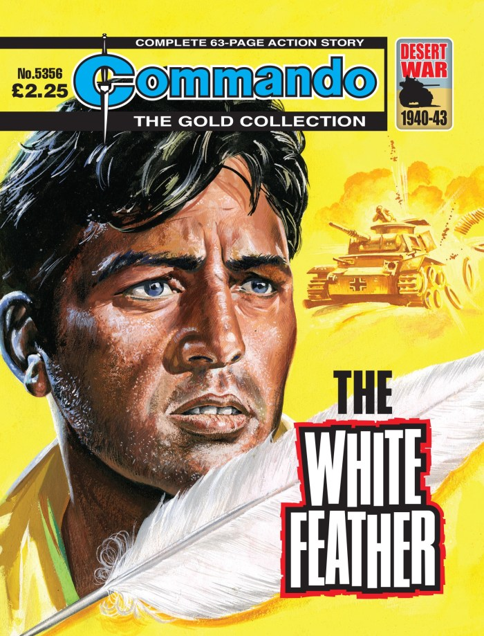 Commando 5356 - Gold Collection: The White Feather