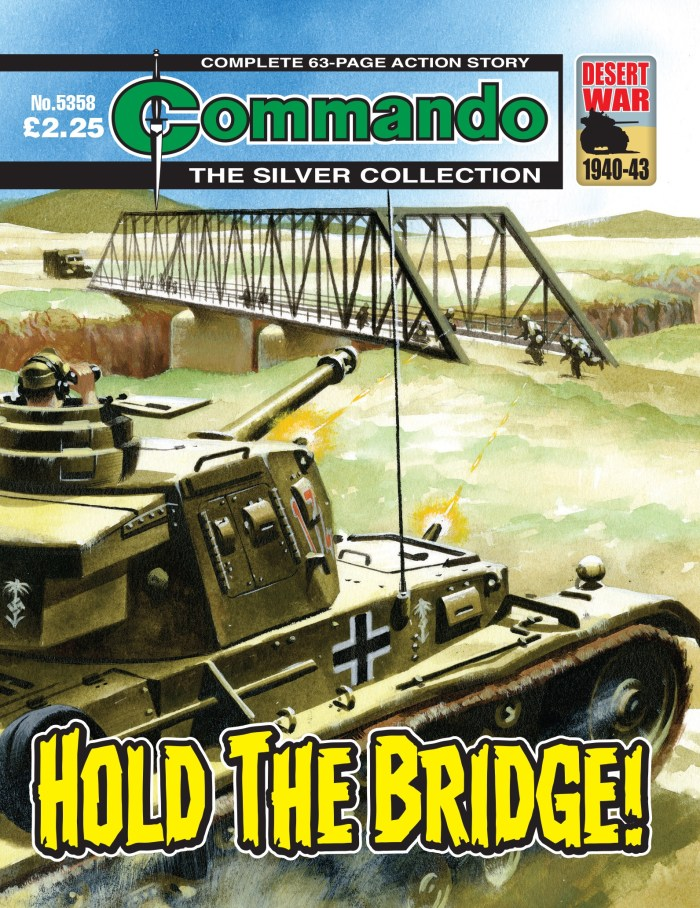 Commando 5358 - Silver Collection: Hold the Bridge!