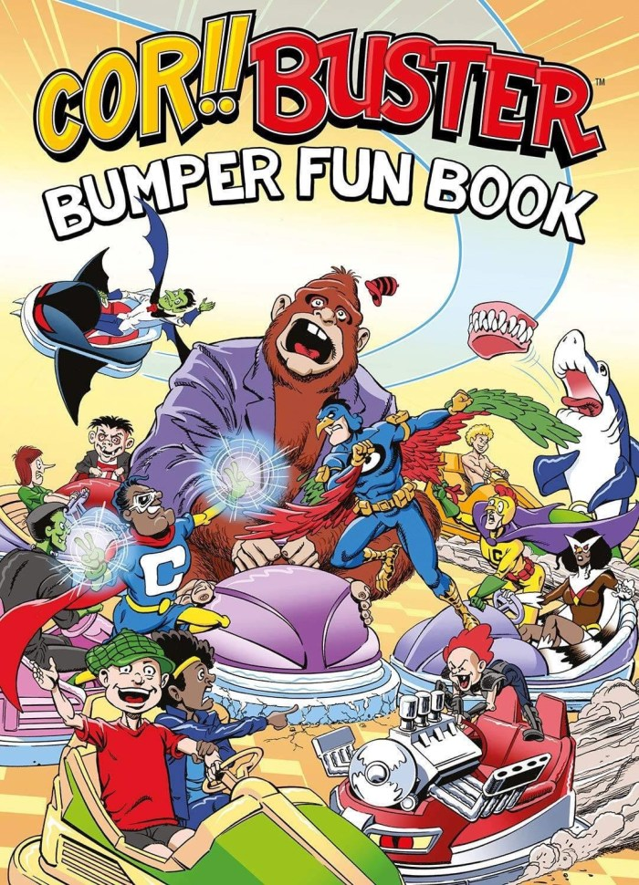 Cor!! Buster Bumper Fun Book